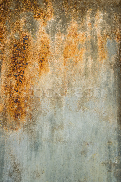Zardzewiałe tekstury metalu wilgoć powietrza ściany streszczenie Zdjęcia stock © homydesign