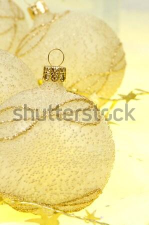 Christmas ball baubles Stock photo © homydesign