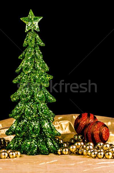 Christmas tree decoration Stock photo © homydesign
