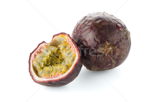 Passion fruits isolé blanche Photo stock © homydesign