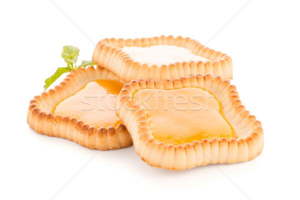 Kalk jam geïsoleerd witte voedsel achtergrond Stockfoto © homydesign