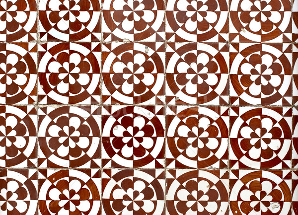Portuguese glazed tiles 055 Stock photo © homydesign
