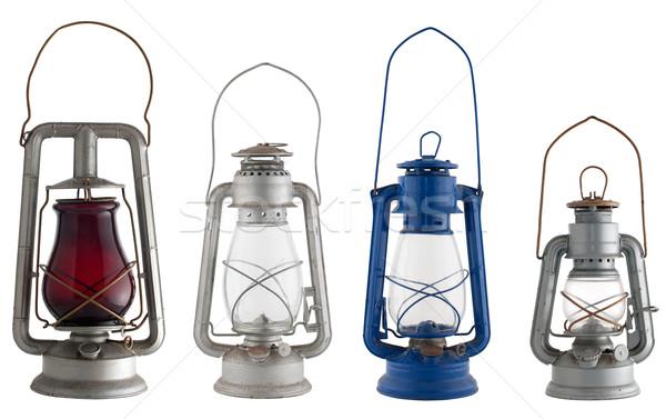 Old lanterns Stock photo © homydesign