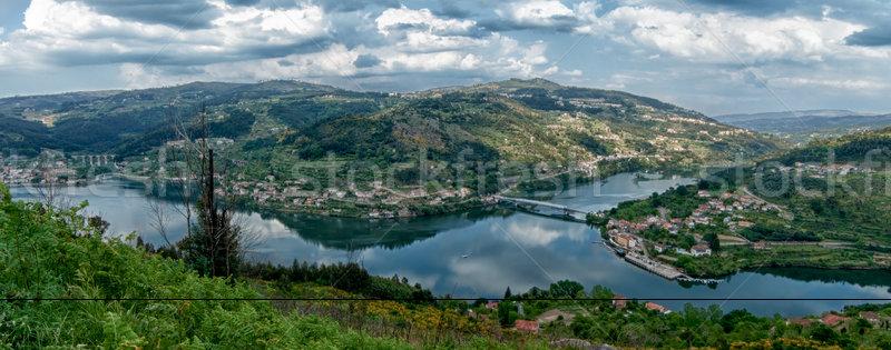 Douro Valley - Town Oliveira do Douro Stock photo © homydesign