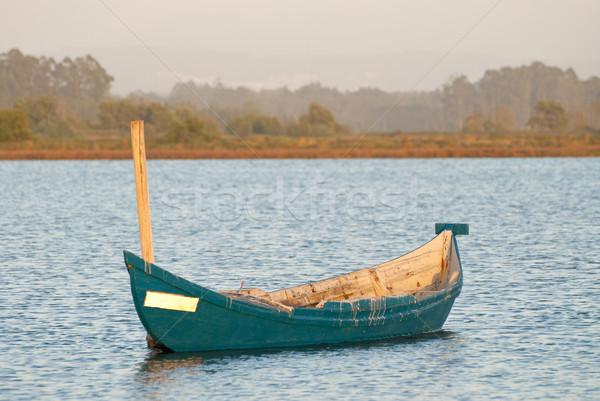 Traditional fishing boat Stock photo © homydesign