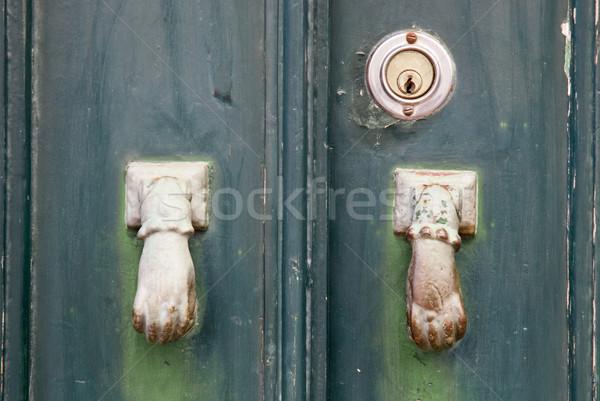 Door knob Stock photo © homydesign