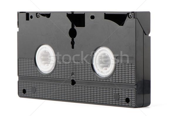 öreg videó szalag izolált fehér televízió Stock fotó © homydesign