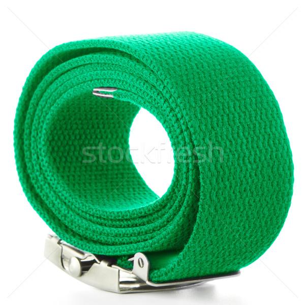 緑 ベルト 白 背景 色 現代 ストックフォト © homydesign