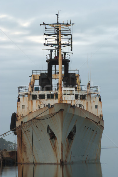 Old ship Stock photo © homydesign