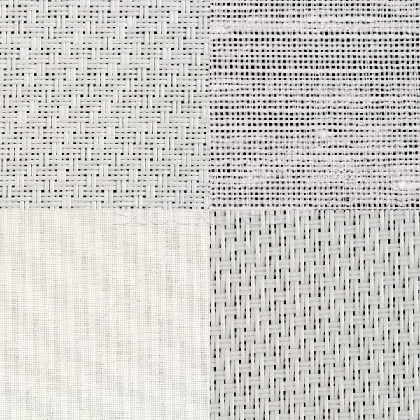 Establecer blanco vinilo textura pared Foto stock © homydesign