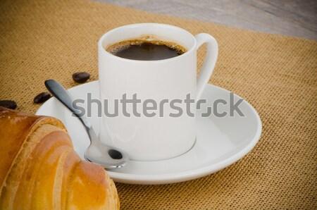カップ ブラックコーヒー 家 テクスチャ 食品 建物 ストックフォト © homydesign