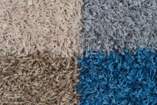 цвета ковер подробность текстуры ванную Сток-фото © homydesign
