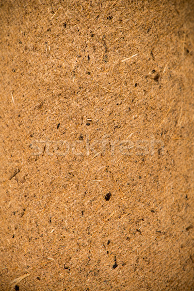 Panel composed of wood chips pressed Stock photo © homydesign
