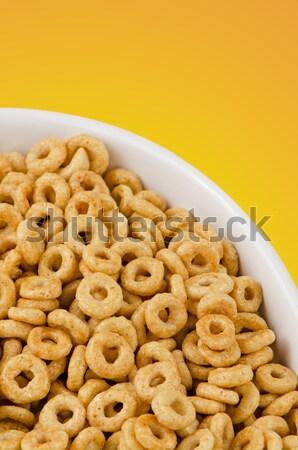 Stock photo: Yellow cereals