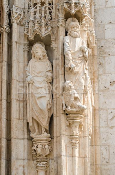 Sculpture in stone Stock photo © homydesign