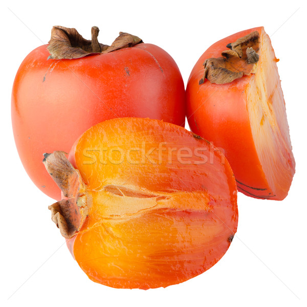 Ripe persimmons Stock photo © homydesign