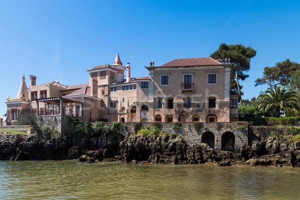 Municipal muzeu casă constructii mare turism Imagine de stoc © homydesign