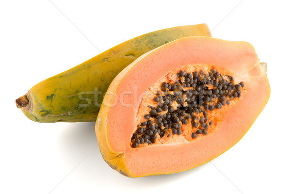 Fresh and tasty papaya Stock photo © homydesign