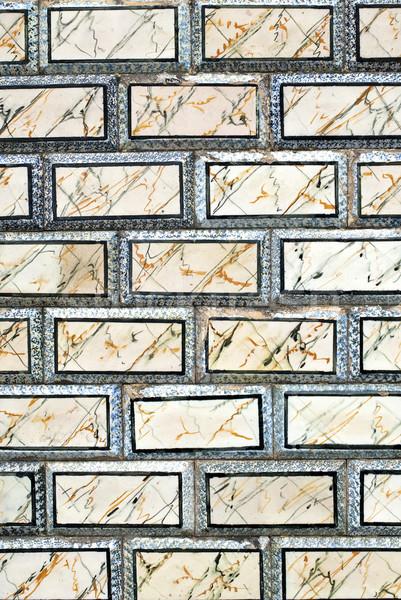 Portuguese glazed tiles 050 Stock photo © homydesign