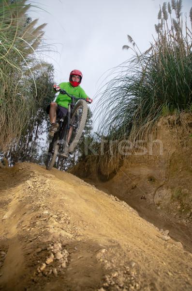 MTB downhill Stock photo © homydesign