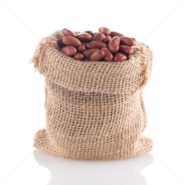 Red beans bag Stock photo © homydesign