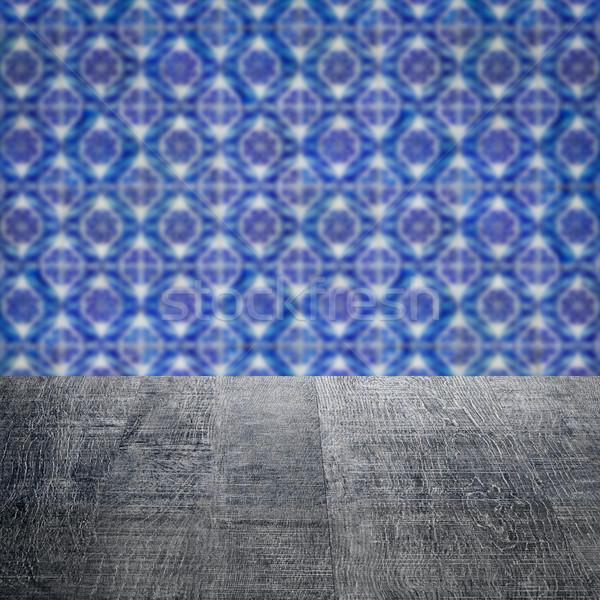 Top Blur Vintage керамической плитка Сток-фото © homydesign
