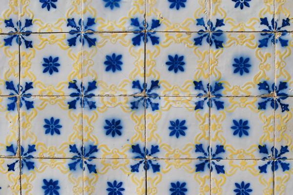 Portuguese glazed tiles 165 Stock photo © homydesign