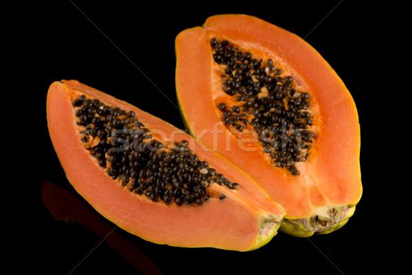 Fresh and tasty papaya Stock photo © homydesign
