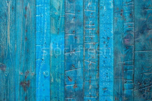 Blue wooden panel Stock photo © homydesign
