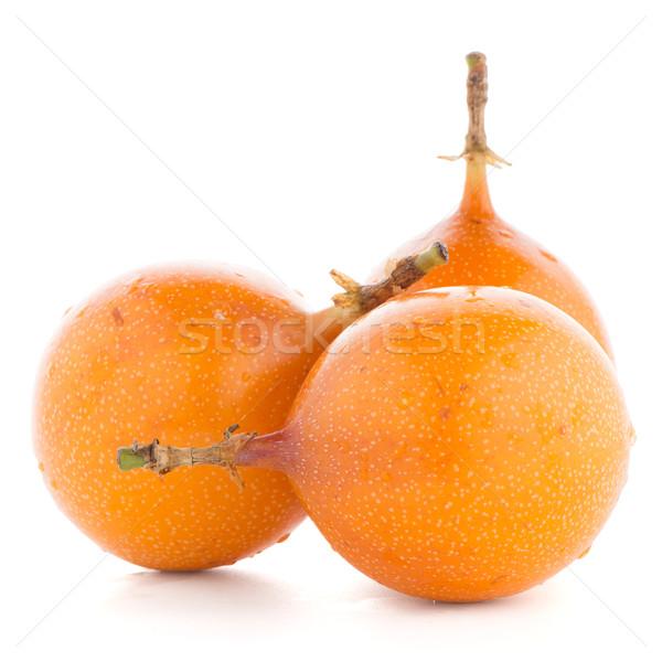 Passion fruits alimentaire orange tropicales jaune Photo stock © homydesign