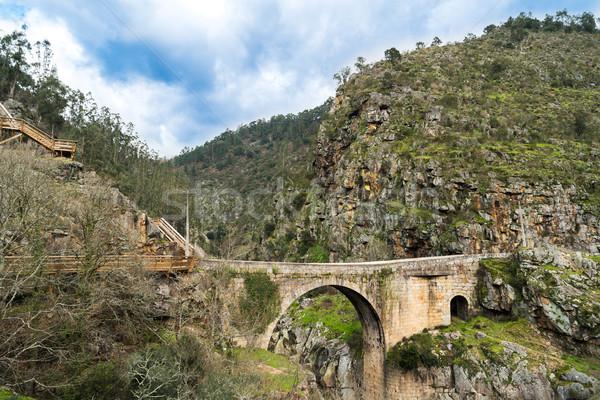 Alvarenga bridge Stock photo © homydesign