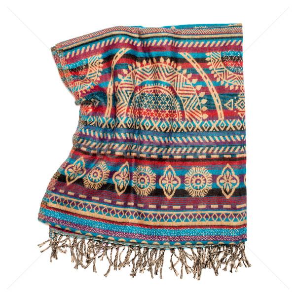 Indian blanket Stock photo © homydesign