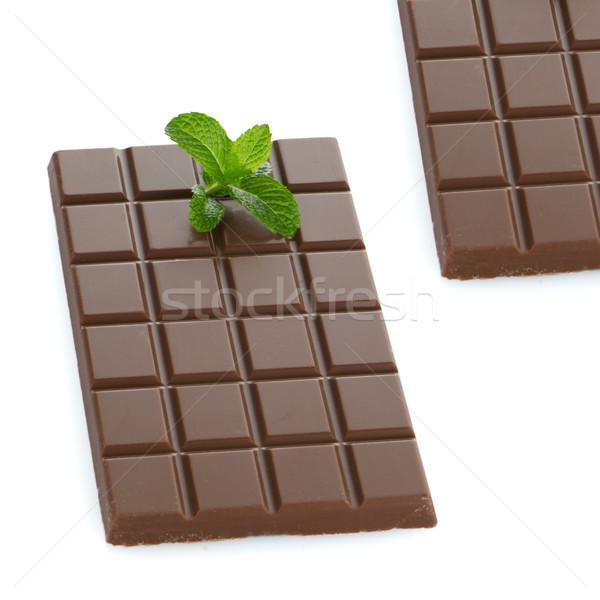 Chocolate bars Stock photo © homydesign