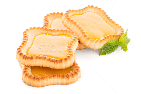 Lime jam tartlets Stock photo © homydesign