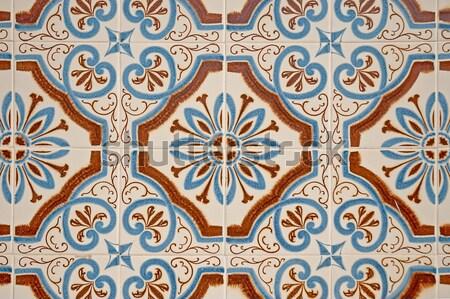 традиционный плитки подробность искусства полу обои Сток-фото © homydesign