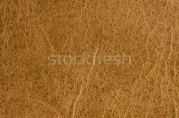 Yellow leather  Stock photo © homydesign