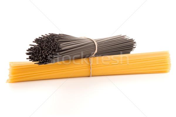 Bos spaghetti witte voedsel pasta studio Stockfoto © homydesign