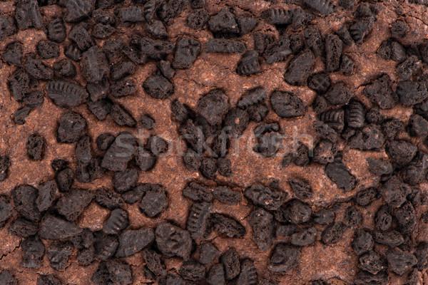 Brownie chocolate cake Stock photo © homydesign