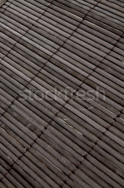 Background - volumetric Japanese reed mat Stock photo © homydesign