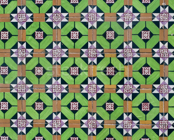 Portuguese glazed tiles 099 Stock photo © homydesign