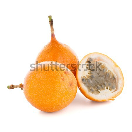 Passion fruits alimentaire orange tropicales jaune Photo stock © homydesign