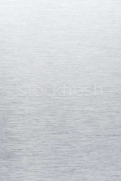Roestvrij staal textuur grijs abstract achtergrond metaal Stockfoto © homydesign