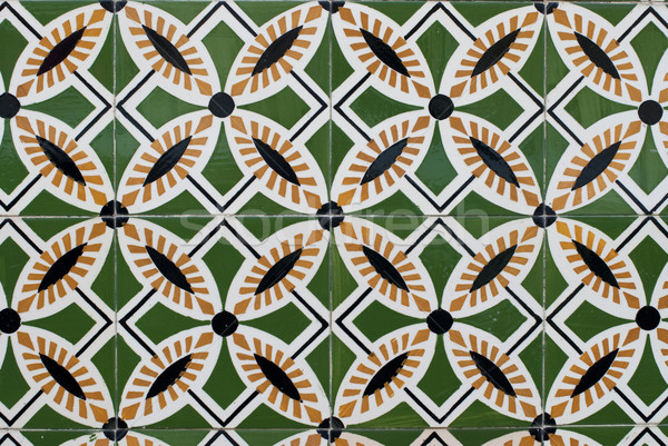 Portuguese glazed tiles 169 Stock photo © homydesign