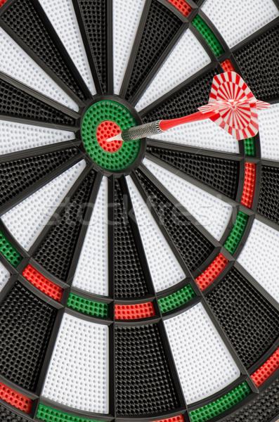 Dart board with dart Stock photo © homydesign