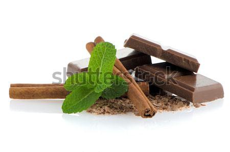 Chocolate bar Stock photo © homydesign