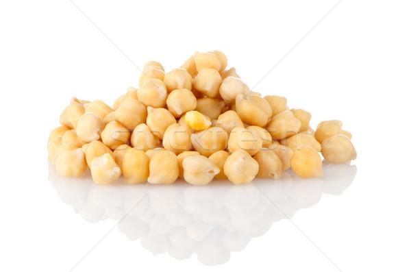Pile of chickpeas Stock photo © homydesign