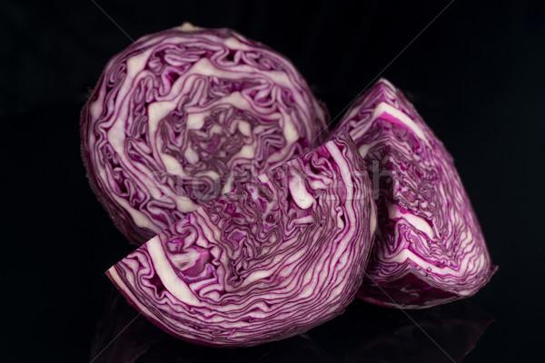 Red cabbage Stock photo © homydesign