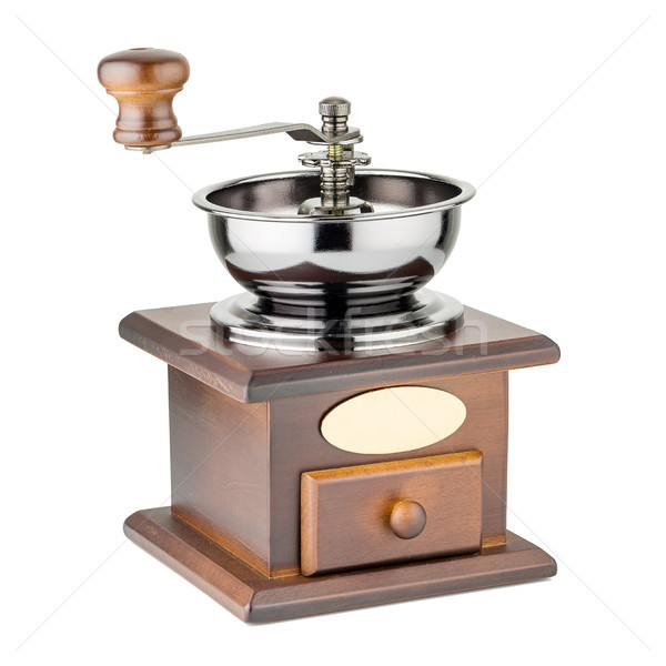 Manual coffee grinder Stock photo © homydesign