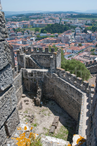 Ancient walls in a Castle Stock photo © homydesign