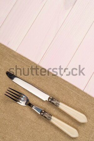 кухонные принадлежности бежевый полотенце Сток-фото © homydesign